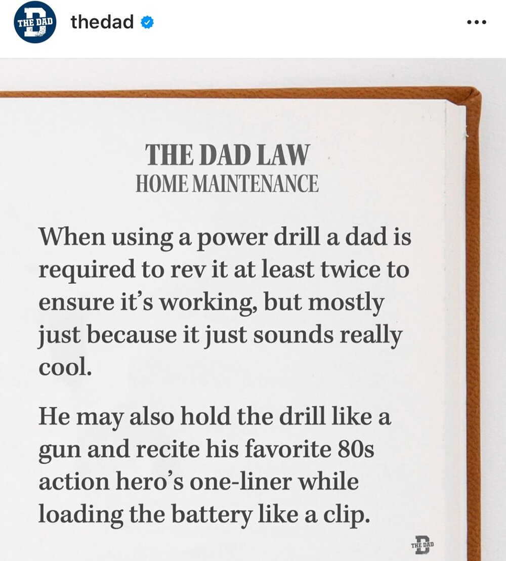 dads and their power tools