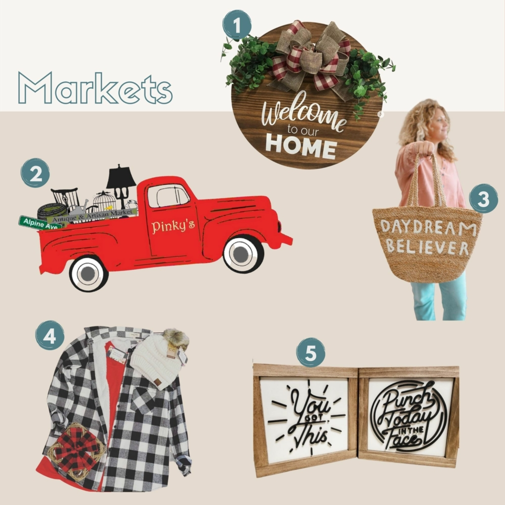 Local Holiday Guide: Markets